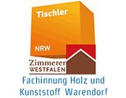 Logo Fachinnung Holz und Kunststoff Warendorf / Fachgruppe Zimmerer